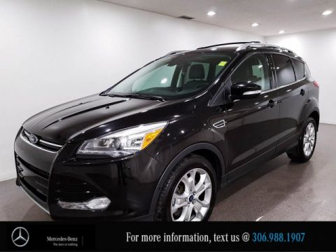 Pre-Owned 2015 Ford Escape Titanium With Sunroof, Leather & Bluetooth