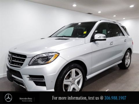 Certified Pre-Owned 2015 Mercedes-Benz M-Class ML 350 BlueTEC Heated Seats CAM NAV