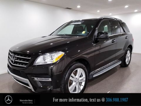 Certified Pre-Owned 2015 Mercedes-Benz M-Class ML 350 BlueTEC Leather Heated Seats Bluetooth CAM