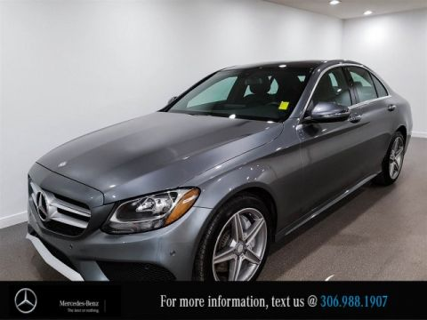 Certified Pre-Owned 2017 Mercedes-Benz C-Class C 300, Demo Special, Save $15,000