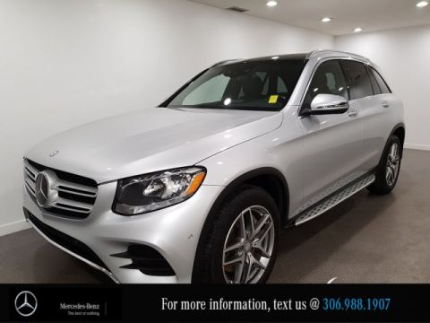 Certified Pre-Owned 2016 Mercedes-Benz GLC GLC 300 Leather Heated Seats CAM NAV