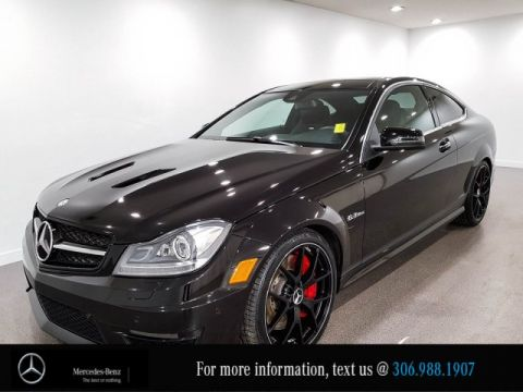 Certified Pre-Owned 2015 Mercedes-Benz C-Class C 63 AMG