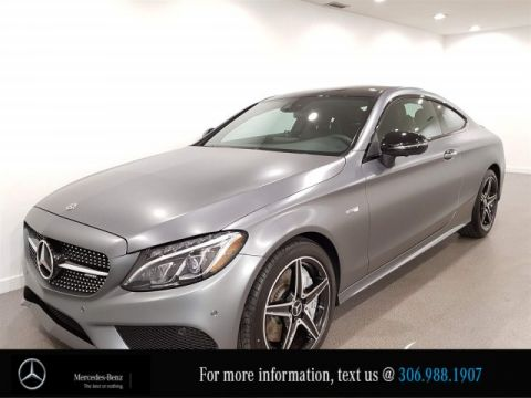 Certified Pre-Owned 2017 Mercedes-Benz C-Class AMG C 43, Heated seats, CAM, 4MATIC