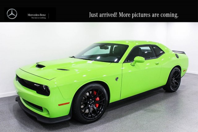 Pre-Owned 2015 Dodge Challenger SRT Hellcat, 707 Horsepower Super Charged V8