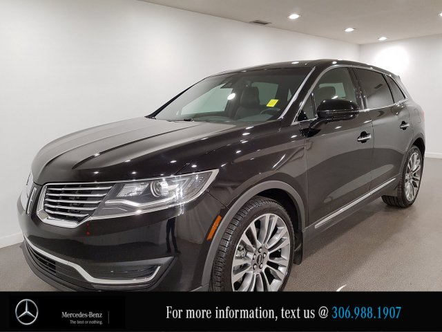 Pre-Owned 2016 Lincoln MKX Reserve Heated Leather Seats CAM NAV