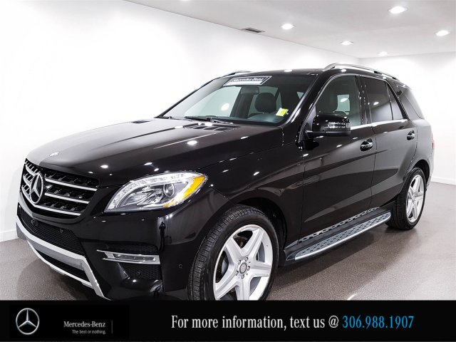 Certified Pre-Owned 2015 Mercedes-Benz M-Class ML 350BlueTEC Leather Heated Seats Bluetooth CAM NAV