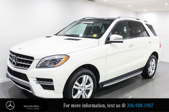 Certified Pre-Owned 2014 Mercedes-Benz M-Class ML350 BlueTEC, 0.9% Financing