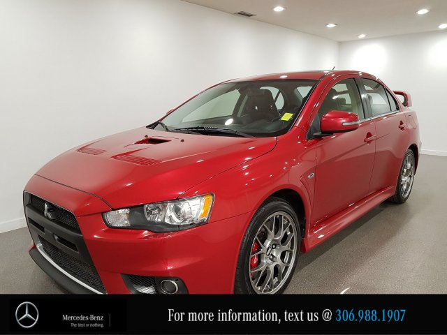Pre-Owned 2015 Mitsubishi Lancer Evolution X MR AWD RECARO Racing Seats Bluetooth
