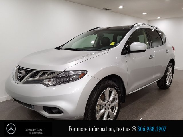 Pre-Owned 2014 Nissan Murano Platinum, Leather Heated Seats NAV CAM