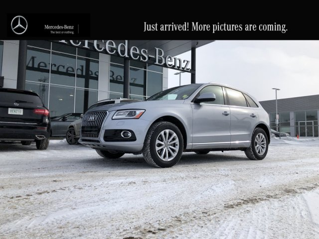Pre-Owned 2017 Audi Q5 2.0T Progressiv Heated Leather Seats
