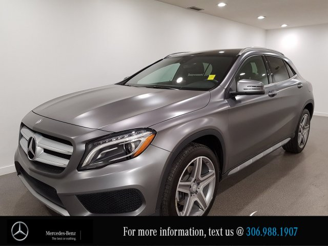 Certified Pre-Owned 2017 Mercedes-Benz GLA GLA 250 Heated Leather Seats CAM