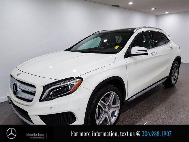 Certified Pre-Owned 2017 Mercedes-Benz GLA GLA 250 Leather Heated Seats CAM
