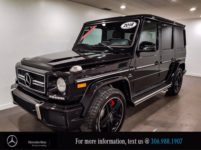 Certified Pre-Owned 2018 Mercedes-Benz G-Class AMG G 63