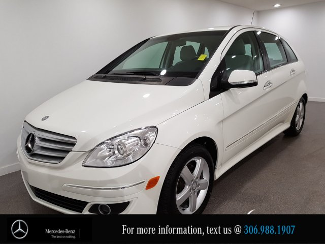 Pre-Owned 2008 Mercedes-Benz B-Class locally Owned Heated Front Seats