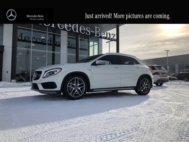 Certified Pre Owned 2016 Mercedes Benz Gla Amg 45 Heated Two Tone Leather