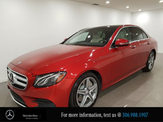 Certified Pre-Owned 2017 Mercedes-Benz E-Class E 300 Heated Leather Seats CAM NAV