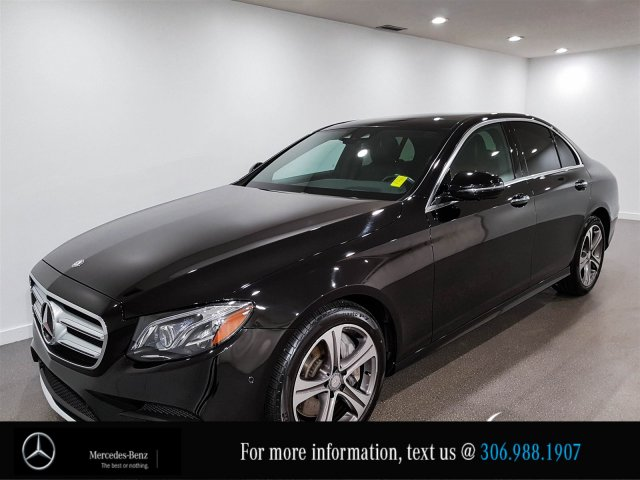 Certified Pre-Owned 2017 Mercedes-Benz E-Class E 400 Leather Heated Seats CAM NAV