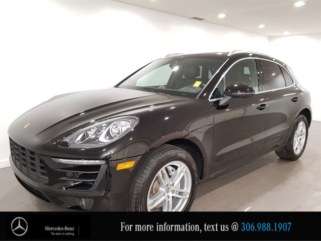 Pre-Owned 2017 Porsche Macan S Locally Owned Heated Leather Seats CAM NAV
