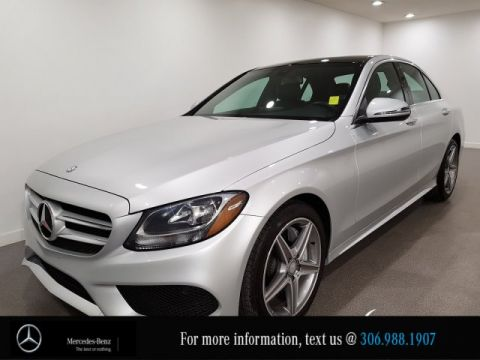 Certified Pre-Owned 2017 Mercedes-Benz C-Class C 300 Heated Leather Seats CAM NAV