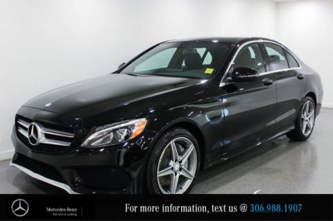 Certified Pre-Owned 2017 Mercedes-Benz C-Class C 300 CAM Heated Steering Wheel AMG Styling