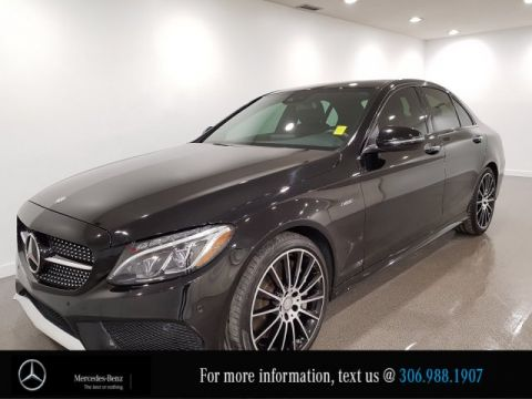 Certified Pre-Owned 2016 Mercedes-Benz C-Class C 450 AMG Heated Sport Seats CAM NAV