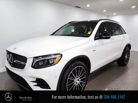 Certified Pre-Owned 2017 Mercedes-Benz GLC AMG GLC 43 Heated Seats AMG Styling CAM NAV