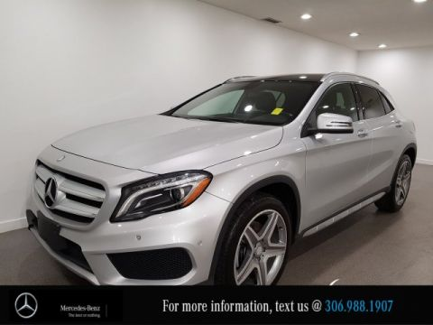 Certified Pre-Owned 2015 Mercedes-Benz GLA GLA 250, PANO Sunroof AMG Styling Pkg