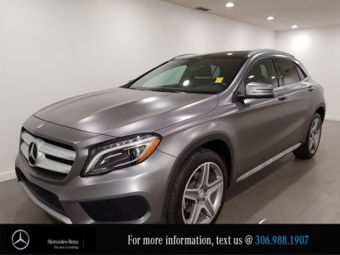 Certified Pre-Owned 2017 Mercedes-Benz GLA GLA 250 Locally Owned LOW KM