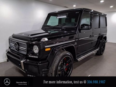 Certified Pre-Owned 2017 Mercedes-Benz G-Class AMG G 65, Brabus Appearance Package