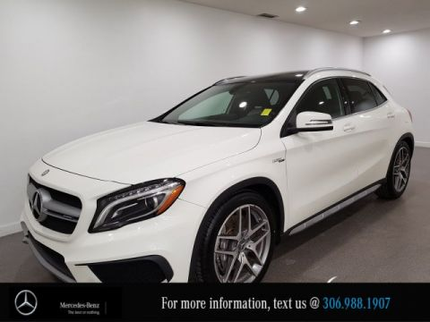 Certified Pre-Owned 2016 Mercedes-Benz GLA AMG GLA 45 Heated Two Tone Leather Seats CAM NAV
