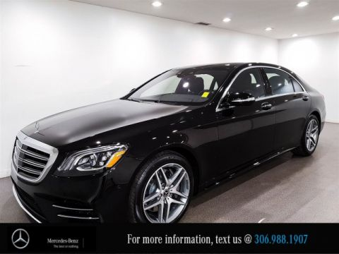 New 2018 Mercedes-Benz S-Class S 560, Save Up To $12,280 & 2.9% Financing