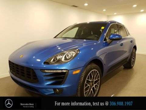 Pre-Owned 2016 Porsche Macan S Heated Leather Seats CAM